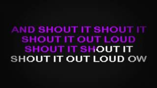 SC2189 02 Kiss Shout It Out Loud [karaoke]