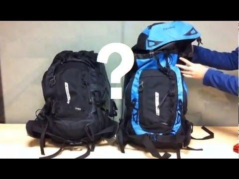 14ce53342c1af Plecak jako bagaż podręczny do samolotu. Jak skompresować? - YouTube