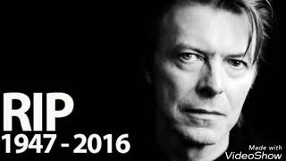 """Europe - Pictures (unofficial vídeo) """"Tribute to Bowie"""""""