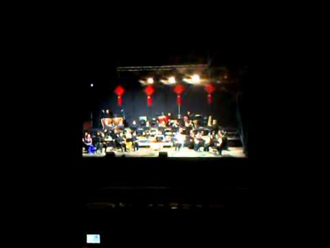 Broadcasting chinese orchestra, chile 2015