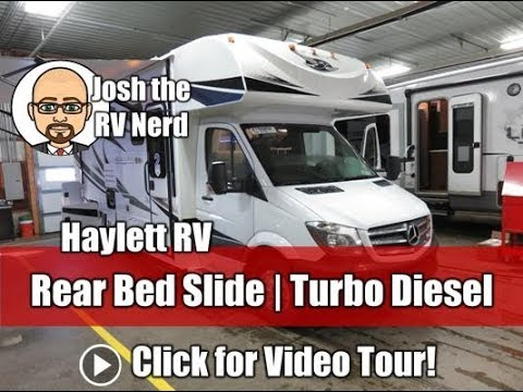 2018 Jayco 24K Melbourne Class C Mercedes Turbo Diesel Mini Motor Home