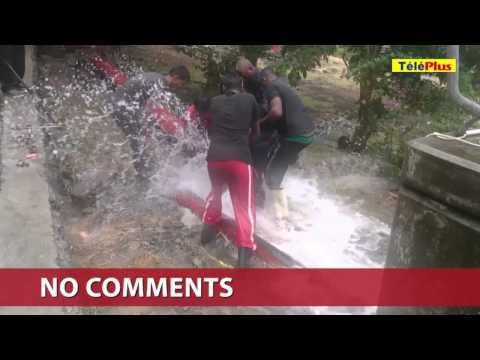 Port-Louis : un refoulement d'eau qui inquiète les habitants