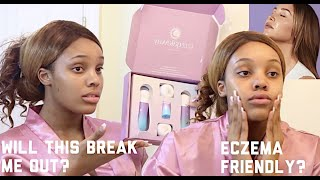 1212 GATEWAY SKINCARE UNBOXING AND FIRST IMPRESSIONS | ECZEMA & SENSITIVE SKIN TYPE | TAMERACHANEL