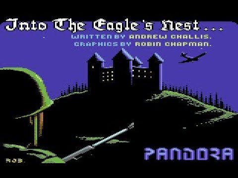 Into The Eagles Nest Review for the Commodore 64 by John Gage