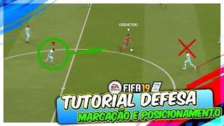 """FIFA 19 DICA """"PROFISSA"""" PARA DEFENDER - TUTORIAL DEFESA E MARCAÇÃO"""