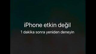 İphone etkin değil Sorunun çözümü - 4 4s 5 5s 6 6s 7 8 tüm modellerde çözüm