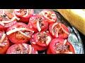 Кулинария с Лизой - Постный салат из помидоров