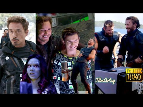 Avengers: Infinity War Full Bloopers and Gag Reel - Hilarious Marvel Outtakes 2018