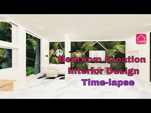 Room Planner | Bedroom Creation Time-Lapse | Interior Design