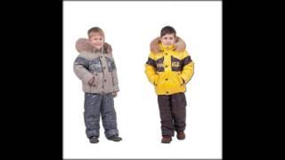 бренды детской зимней одежды