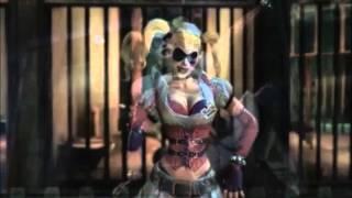 Batman Arkham Asylum - Harley Quinn and The Joker - Numb