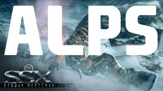 SSX Gameplay Walkthrough - Part 8 World Tour - Deadly Descents [Alps All Mountain Peaks]