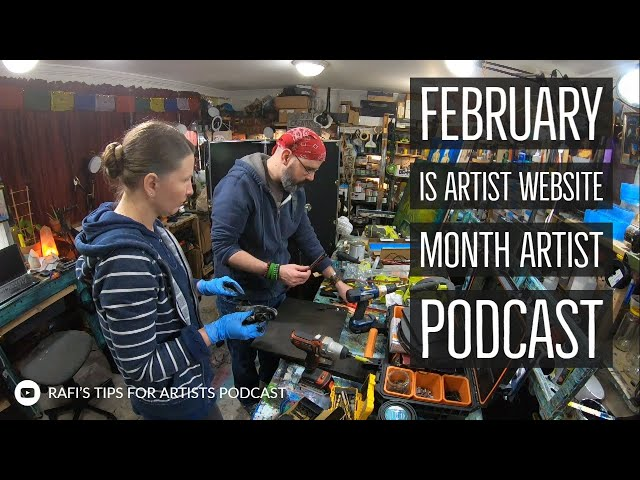 February Is Artist Website Month Artist Podcast