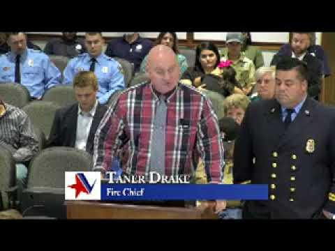 Victoria Texas City Council Meeting of November 21, 2017