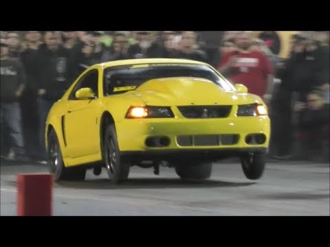 BoostedGT on a crazy fast hit at Tulsa Raceway Park