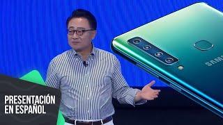 Samsung Galaxy A9 llega con cuatro cámaras y degradado | Presentación en español