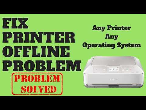 Fix Printer Offline Problem Youtube
