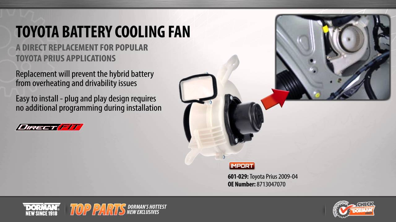 Battery Cooling Fan Youtube