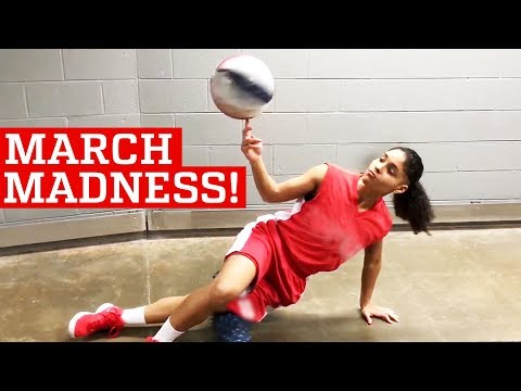 Awesome Basketball Skills & Trick Shots | March Madness 2018