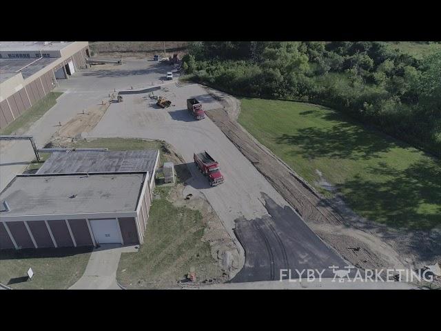 Michigan Drone Marketing | Fly By Marketing | A1 Asphalting