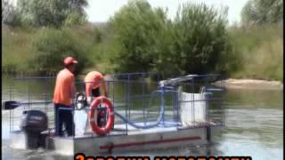 Плавающая технологическая платформа ПТП-1 с плавающим резервуаром РР-10П(Плавающая технологическая платформа ПТП-1, производства НПП ООО