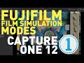 Setting Fuji Film Simulation Modes in Capture One 12