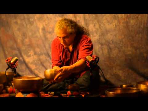 70 minute~7 Chakra Meditation with 21 Antique Tibetan Singing Bowls~Crown~B thru Root~C