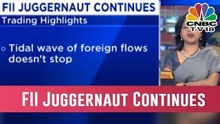 FII Juggernaut Continues; Indian Heavyweights Rise Despite Softer Asian, Wall Street Indices