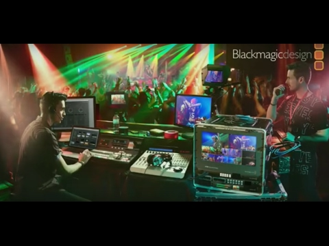 Blackmagic Design Live Production Press Conference 6th Feb 2017