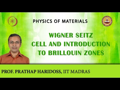 Wigner Seitz Cell and Introduction to Brillouin Zones