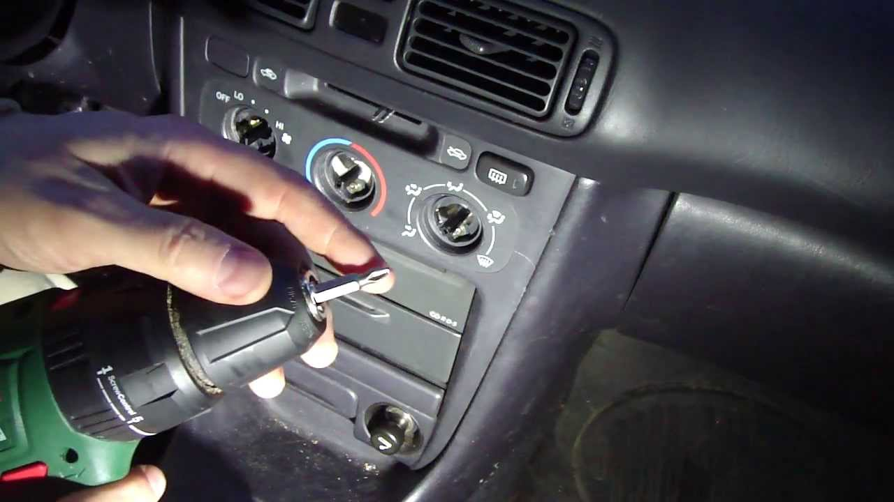 How To Change Dashboard Console Lights Toyota Corolla