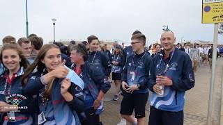 Gibraltar 2019 Opening Ceremony - International Island Games - Team Isle of Wight