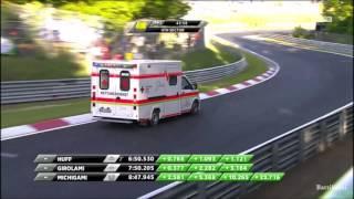 WTCC Nordschleife 2017 FP1 Ehrlacher Big Crash