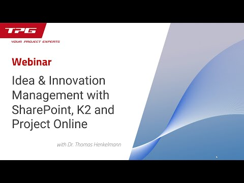 Idea & Innovation Management with SharePoint, K2 and Project Online
