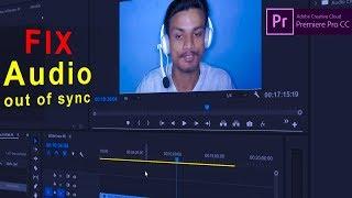 How to Fix Audio Out of Sync Adobe Premiere Pro CC No Handbrake