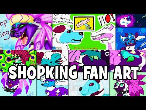 ANIMAL JAM MAIL TIME 105 NEW SHOPKING FAN ART MASTERPIECES