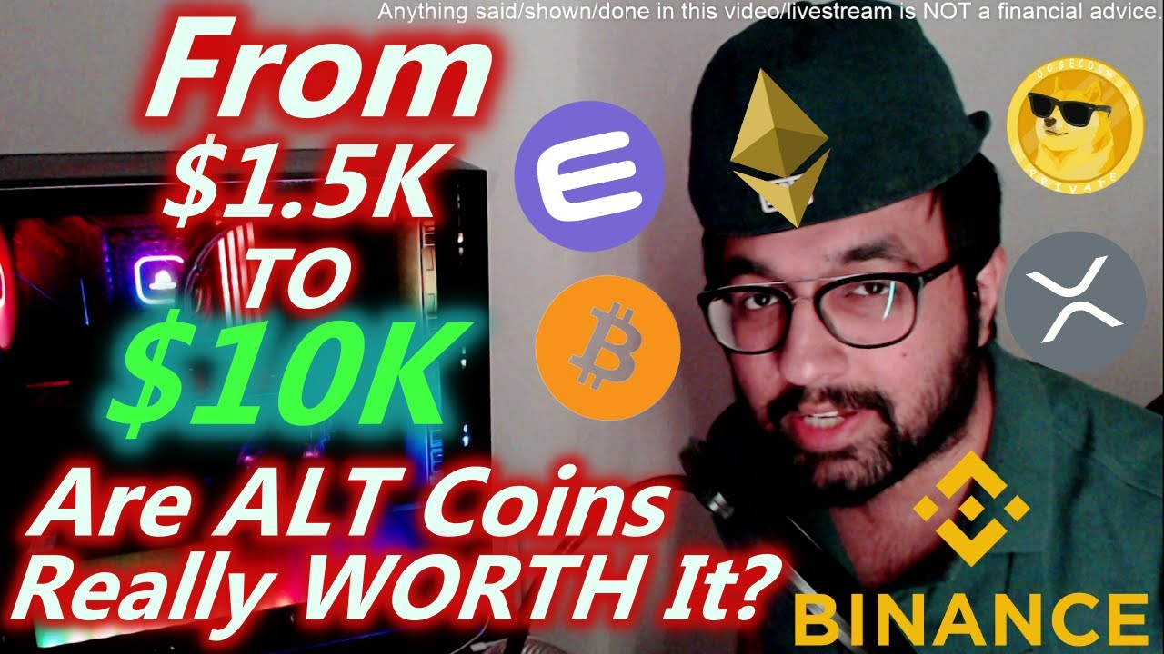 I Turned $1500 to $10000 With These ALT Coins | Crypto 2021