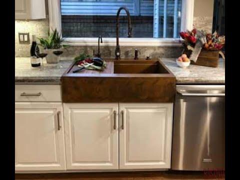 Retrofit Farm Sink In Existing Cabinet, Install Farmhouse Sink Existing Cabinets