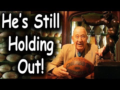 What Happened To The 1st NFL DRAFT PICK EVER? (Longest Holdout in NFL History)