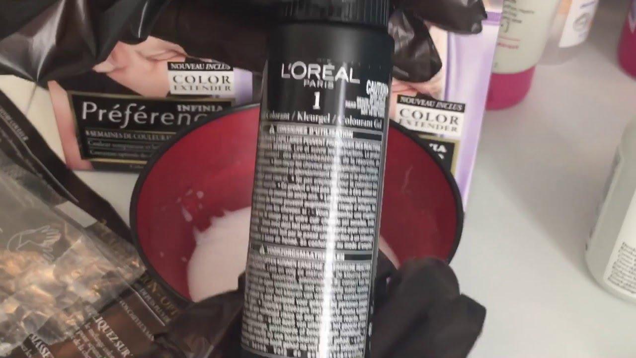 crashtest racines poils de tte 2 coloration 1021 stockholm de chez loreal - Coloration Blond Perle