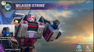 Transformers: Earth Wars Po Polsku | Optimus Prime u nas POLSKA