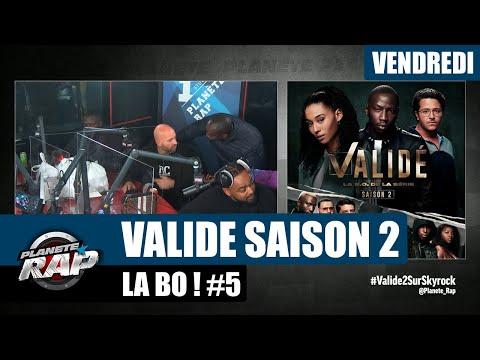 Youtube: Planète Rap –«Validé» Saison 2 avec Franck Gastambide, Laeti, Saïdou Camara, Alonzo… #Vendredi