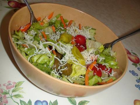 Quick Italian Salad - Garden Salad Video Recipe By Bhavna