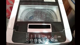HOW TO WASH CLOTHES IN FULLY AUTOMATIC WASHING MACHINE// LG 6.2 KG TERBO DRUM