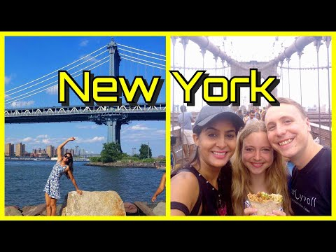 Sightseeing in New York | Brooklyn Bridge | Statue of Liberty | Feat. Klein Aber Hannah