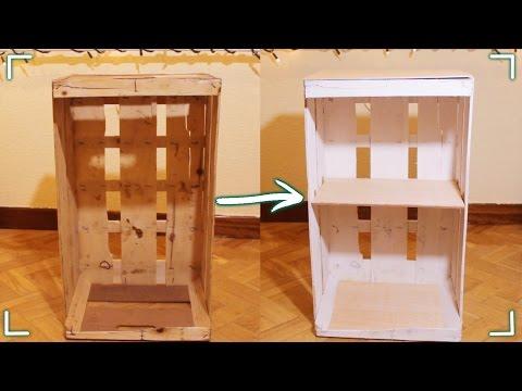 Como hacer muebles con cajones de verduras funnycat tv for Diseno de muebles con cajones de verduras