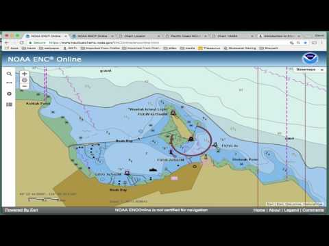 NOAA ENC Viewer Online