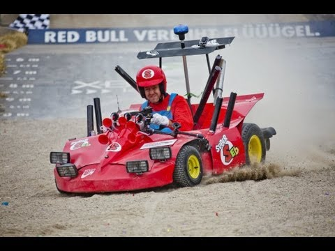 Sebastian Vettel's Soapbox Run - Red Bull Soapbox Germany