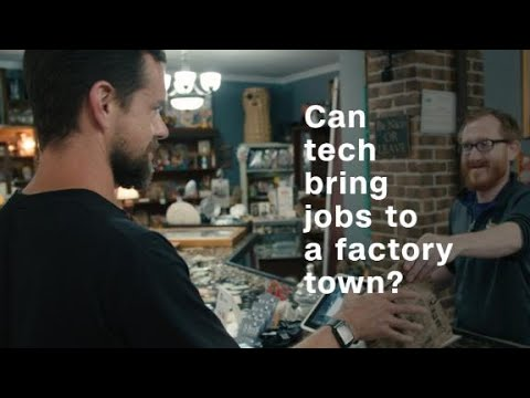 Can tech bring jobs back to a factory town?