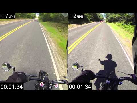 Motoped with Lifan 125cc / Honda 50cc Comparison